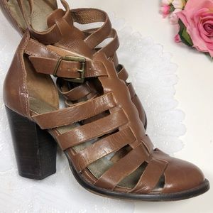 Seychelles Sandal Heels Womens 9.5 Brown